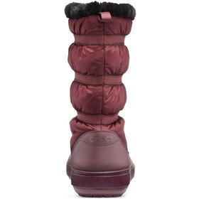 Crocs Crocband Winter Boots Women burgundy